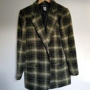Plaid Vintage Blazer